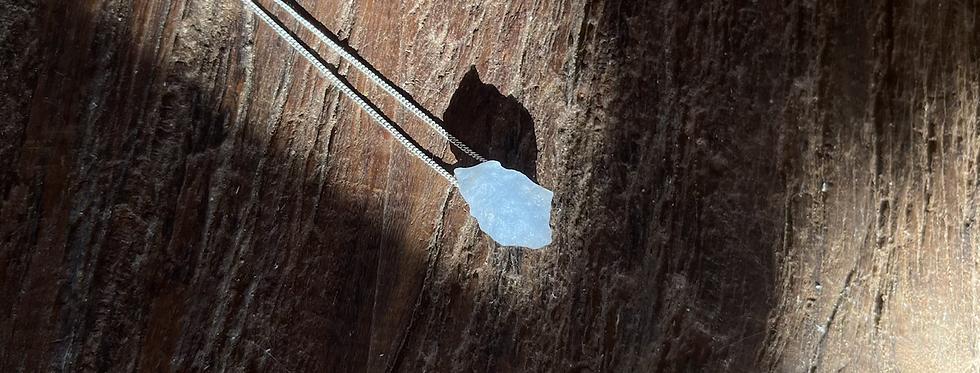 Angelita corrente de prata curta
