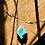 Thumbnail: Amazonita corrente de prata longa