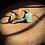 Thumbnail: Crisopázio bracelete de prata