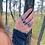 Thumbnail: Lápis Lazuli anel duplo de prata