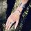 Thumbnail: Cianita Azul anel duplo de prata