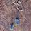 Thumbnail: Cianita Azul  escapulário moldura de prata
