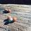 Thumbnail: Cornalinas e Pirita corrente de prata oxidada longa