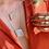 Thumbnail: Calcita Óptica Amarela corrente de prata longa com extensor