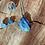 Thumbnail: Lápis Lazuli corrente de prata curta