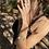 Thumbnail: Larimar bracelete de prata