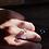 Thumbnail: Ametista anel duplo de prata