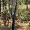 Thumbnail: Fluorita Octaedra Lilás corrente de prata curta