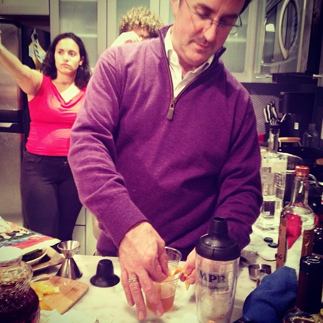 "Instagram - Peter Schilling making a ""RenMen Rye"" -- what's a RenMen Rye you ask"