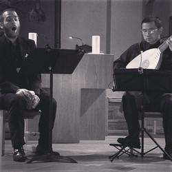 Instagram - HN and Hideki at last night's chamber music series! #renmenlutes