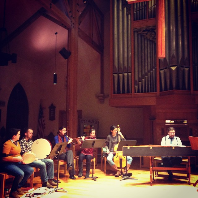 Instagram - Diving into our next project head first! Ensemble Musica Humana drop
