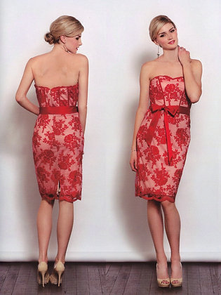 Becky J3007- Red on Sale