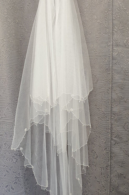 Bella Veil, White