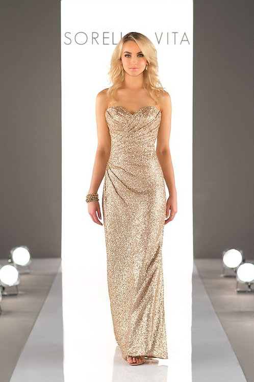 ESV8794 Size 12 in Gold Sequin