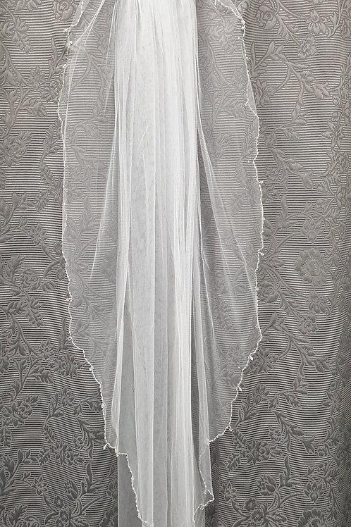 1 Layer Bella Veil White