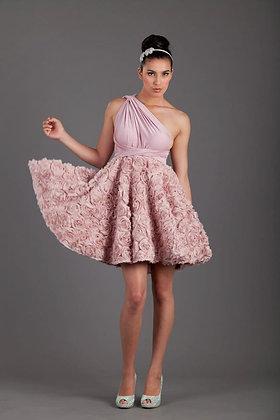 Mini Full Rosette Goddesss Dress