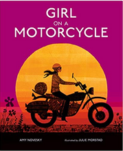 Girl on A Motoercycle