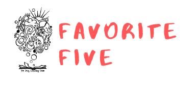 Favorite Five: Let's Get Organized