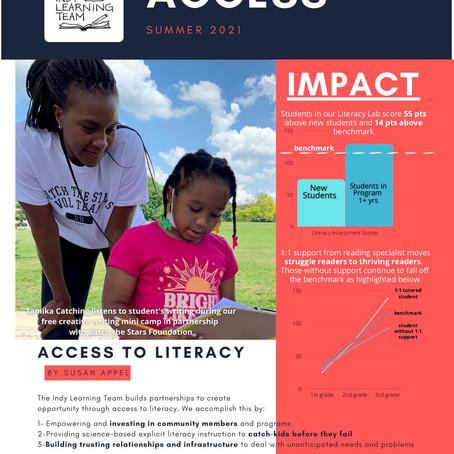 Access: Summer 2021 Newsletter