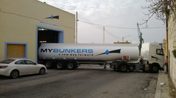 MY Bunkers truck livery