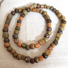 70 beads handmade necklace