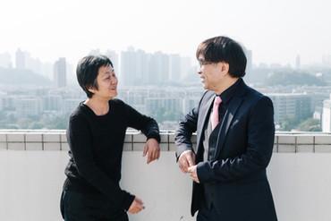 [中][Eng] 翩篇起舞— 黎海寧與盧偉力的對談 The Artist and The Critic - A Conversation between Helen Lai and Lo Wai-lu