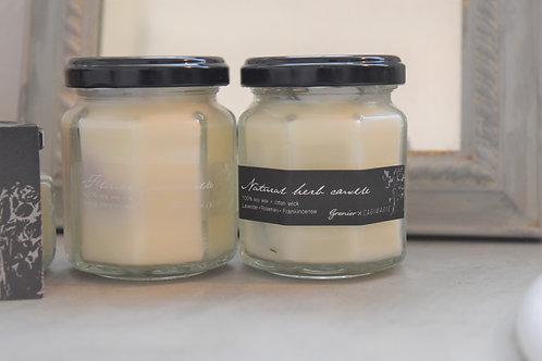 Botanical soy candle (L)