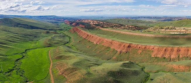 Rural Wyoming Plains