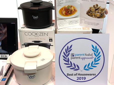 Cook-zen won the Best of Housewares 2019!
