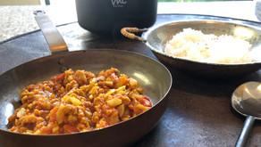 大豆ミートカレー