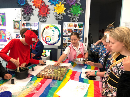 Japanese Sweets Class Held at an Elementary School in Melbourne
