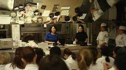 コルドンブルー料理学校パリ本校にて和菓子の指導