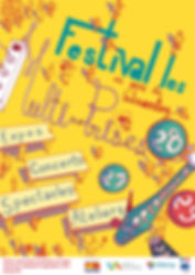 Affiche du Festival Les Multi prises 201