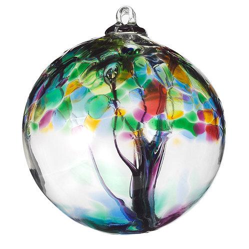 Kitras Art Glass Ornament - Family