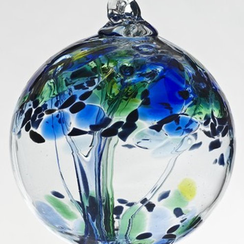 Kitras Art Glass Ornament - Kindness