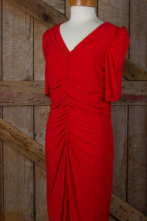 Sharon Max Dress in Red