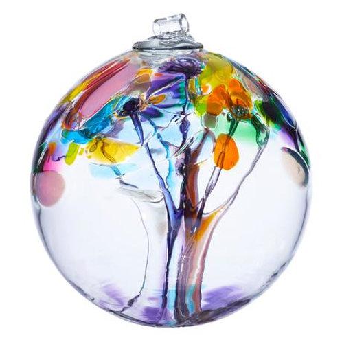 Kitras Art Glass Ornament - Tree of Joy