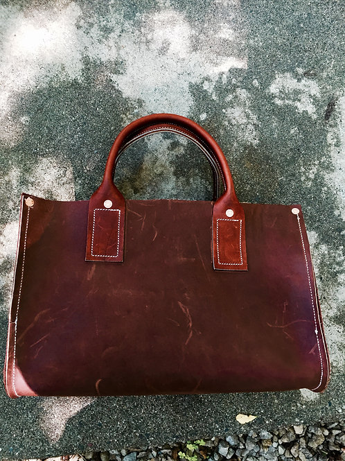Ted Guth Hand-Crafted Leather Bag