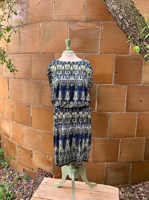 London Times Pattern Dress