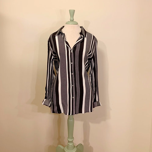 Esqualo Striped Button-up