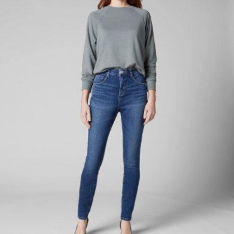 JAG Cecilia High Rise Skinny Jean -Tribeca Blue