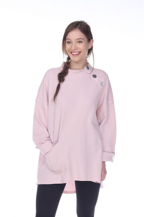 Neon Buddha Blissful Times Top in Frosted Blossum