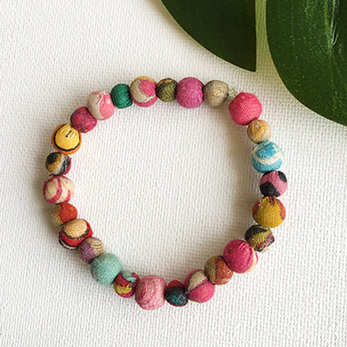 Kantha Poetic Bracelet