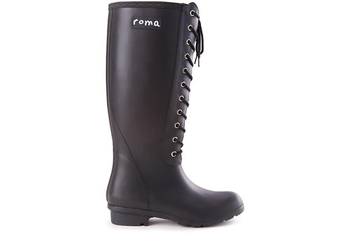 Roma Opinca Boots in Matte Black
