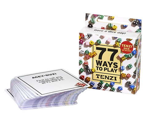 TENZI - 77 Ways to play TENZI