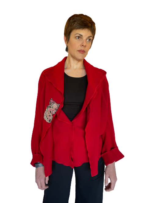 Five Colours Earth Asian Inspired Jacket