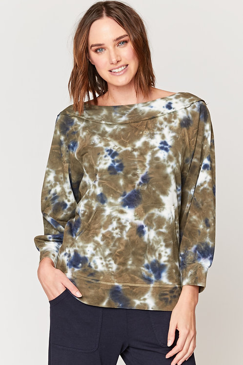Wearables Orville Pullover in Plethora Wash