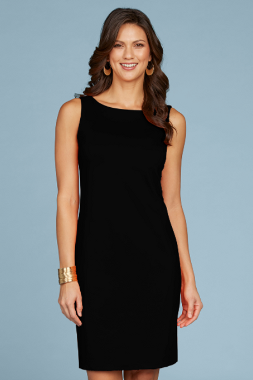JudyP Sabrina Sleeveless Dress