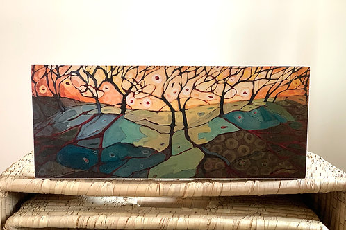 Carla Brown Art Print on Baltic Birch
