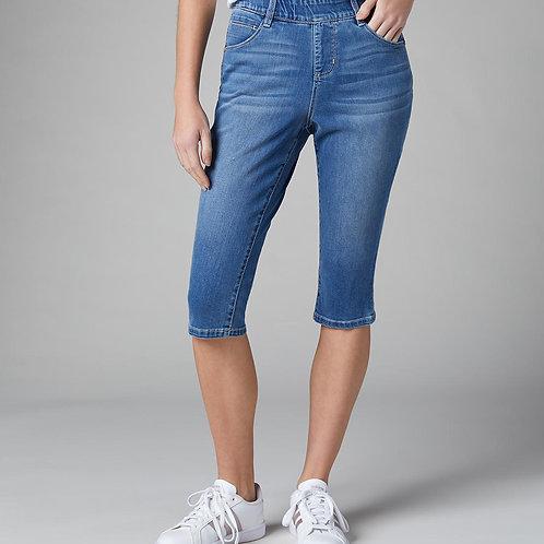 JAG Bryn Pull-on Capri Jeans